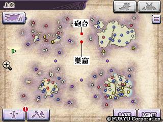ストーリー攻略マップ・ワールドマップ全体図