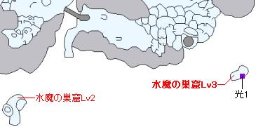 ストーリー攻略マップ・雪の世界の海上