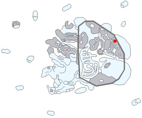 山奥の監獄の場所