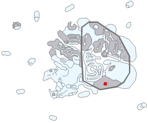 朽ちたカタコンベの場所