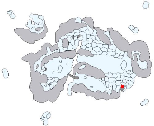 白嶺城の場所