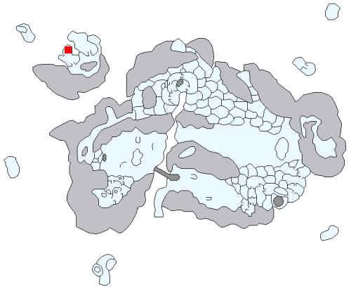 ペンギン洞の場所