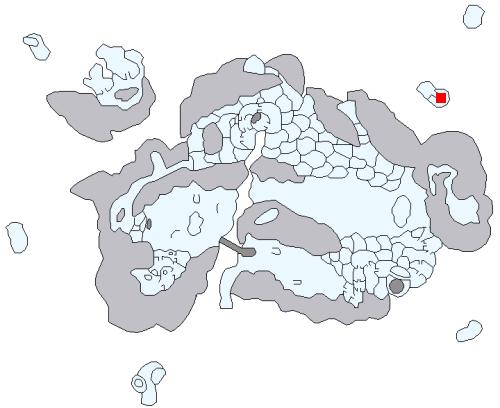 氷海の洞穴の場所