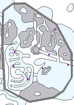 ケイオシウム結晶の場所(監獄世界)
