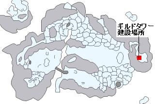 タレント稼ぎ用のギルドタワー(雪の世界)