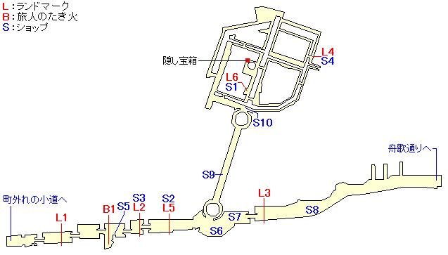 フルスハイムのマップ画像