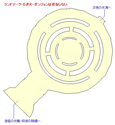 波座の伏籠・網代の門のマップ画像