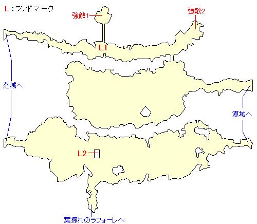 天衝樹アインホルン・神域のマップ画像
