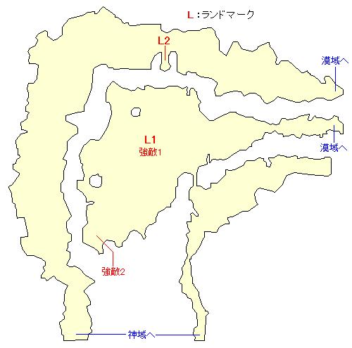 天衝樹アインホルン・茫域のマップ画像