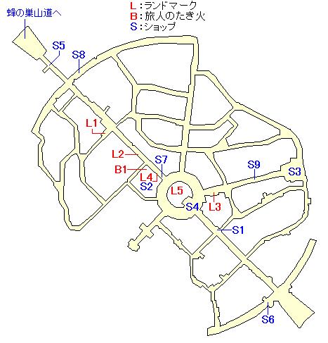 ライゼンベルグのマップ画像