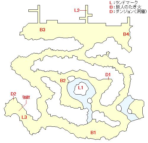 リーゼントレーネのマップ画像