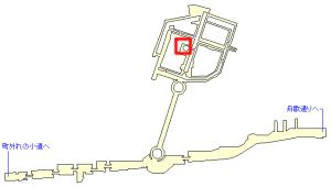 フルスハイムにある隠し宝箱の場所