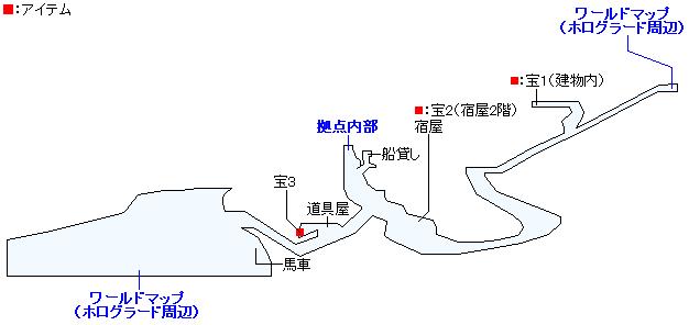軍国ホログラードのマップ画像