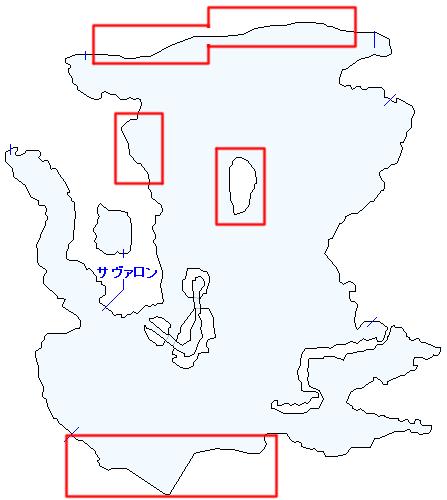 サハギンスクトゥムとポイズンルーパーが出現する場所