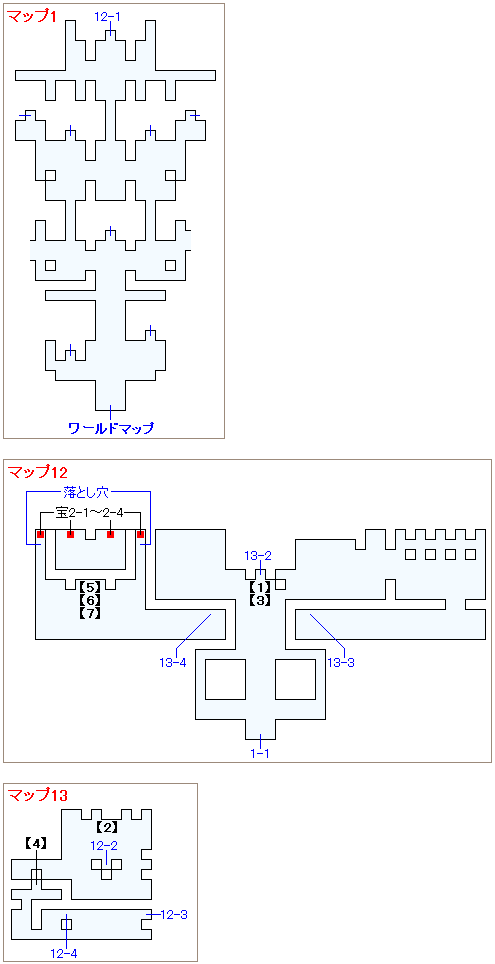 ブレス オブ ファイア マップ