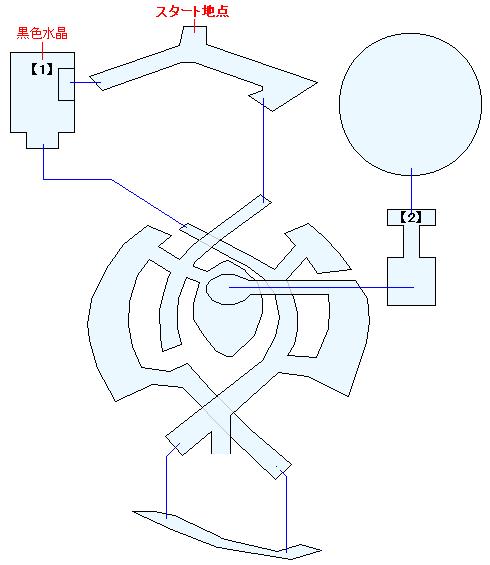 古龍の砦マップ画像