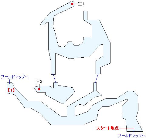 溺れ谷(ANOTHER)マップ画像
