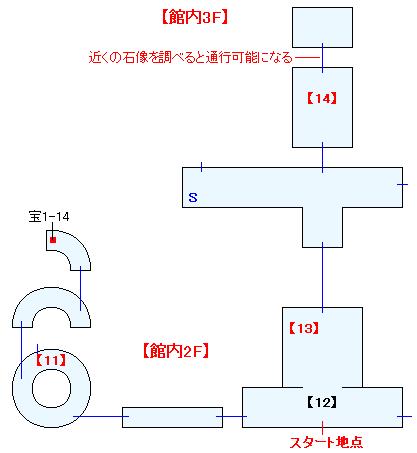 蛇骨館(ANOTHER)マップ画像(4)