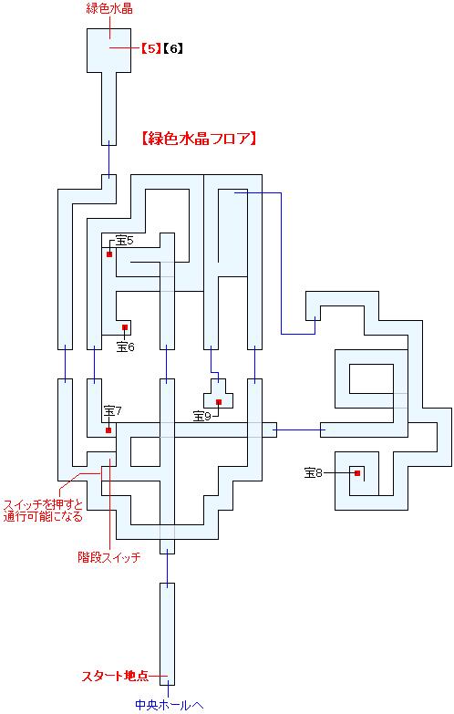 古龍の砦(ANOTHER)マップ画像(3)