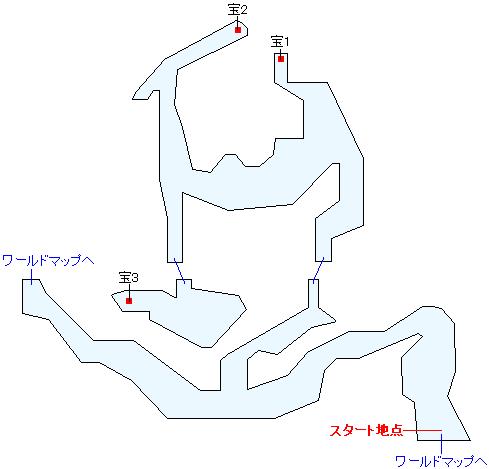 溺れ谷(HOME)マップ画像