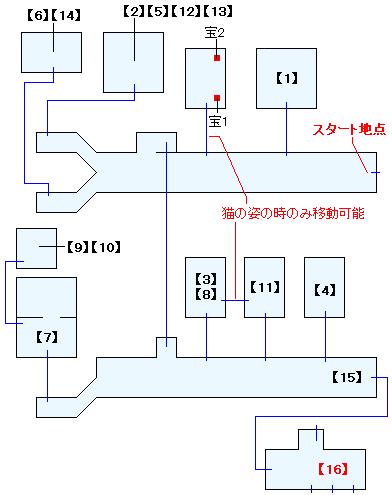 海上歓楽街・ゼルベス(HOME)マップ画像(1)