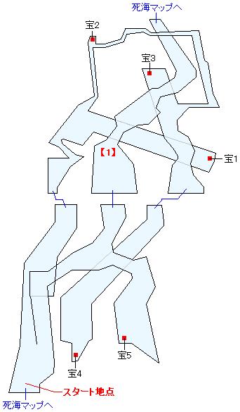 死海・ハイウェイ廃墟(HOME)マップ画像