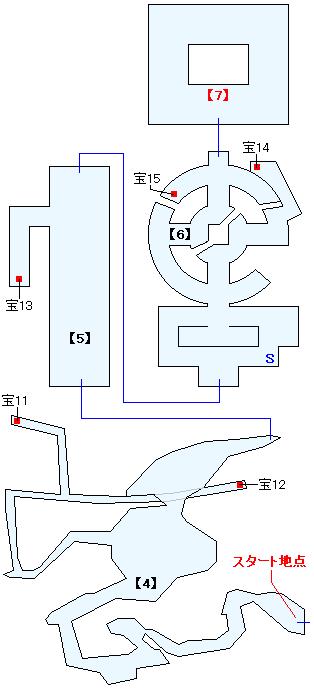 死海・滅びの塔(HOME)マップ画像(2)