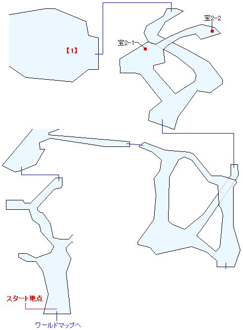 死炎山(ANOTHER)マップ画像