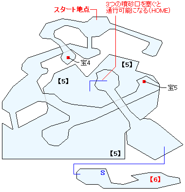 土龍の島(HOME)マップ画像(2)