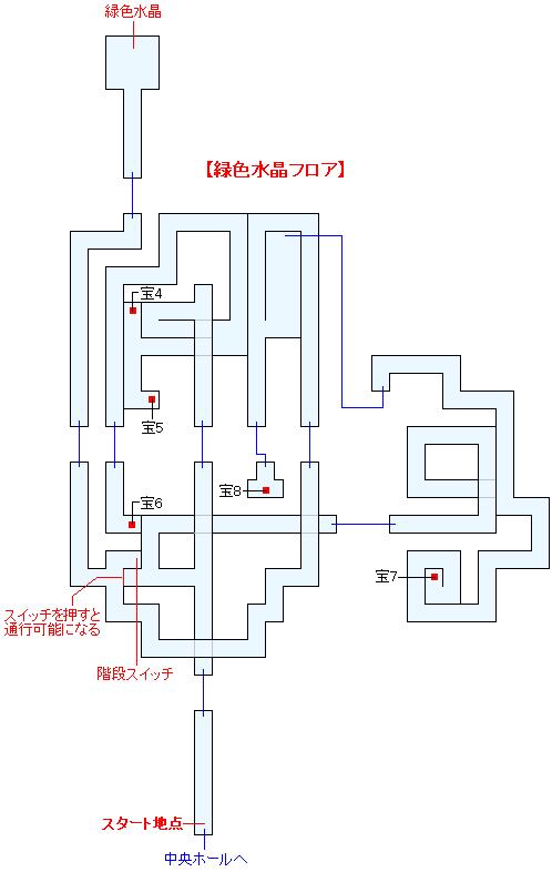 古龍の砦(HOME)マップ画像(4)