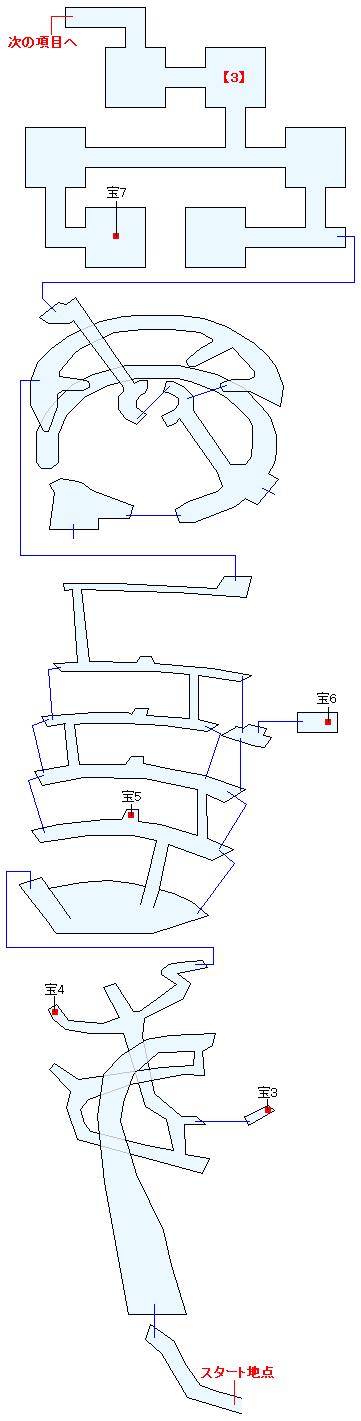 星の塔(ANOTHER)マップ画像(2)