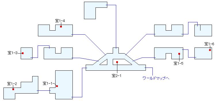アルニ村(ANOTHER)マップ画像