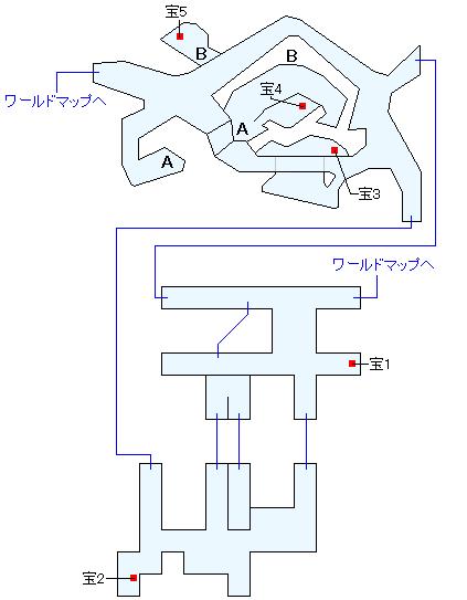 トカゲ岩(HOME)マップ画像