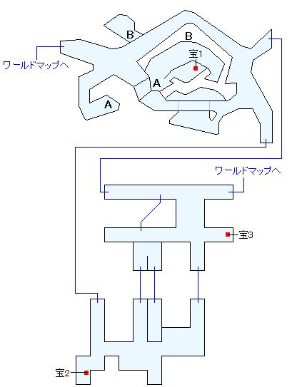 トカゲ岩(ANOTHER)マップ画像