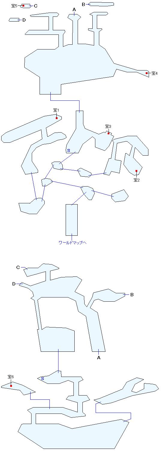 水龍の島マップ