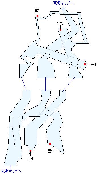 死海・ハイウェイ廃墟マップ画像
