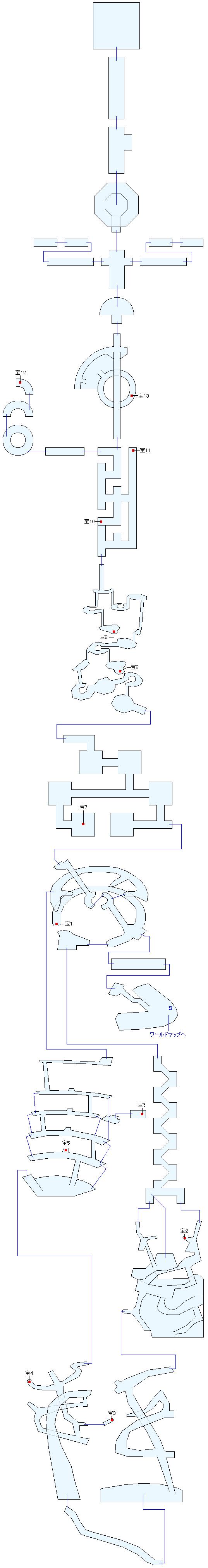 星の塔マップ画像