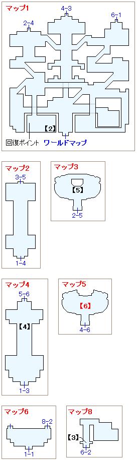 ジール宮殿マップ画像(2)