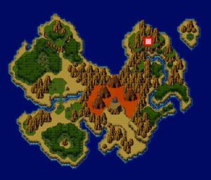 竜の聖域・竜の里のある場所