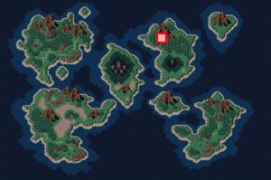 竜の聖域・竜の里(中世)のある場所