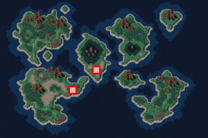 魔岩窟のある場所