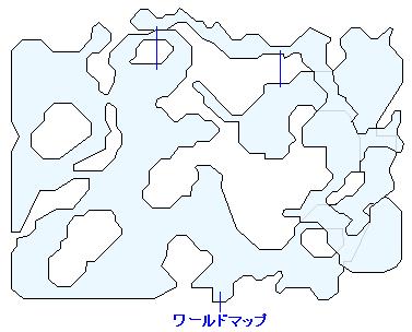 狩りの森のマップ画像