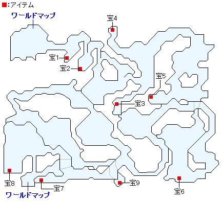 迷いの森のマップ画像