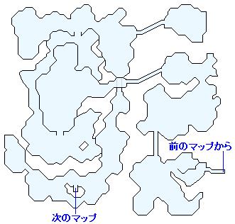 次元のゆがみ・古代(なげきの山)のマップ画像