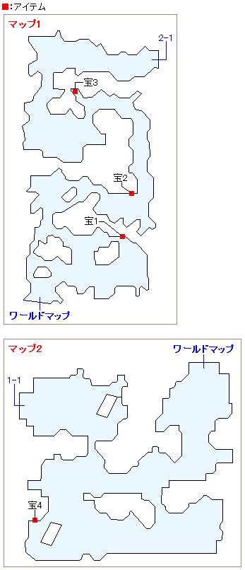 16号廃墟のマップ画像
