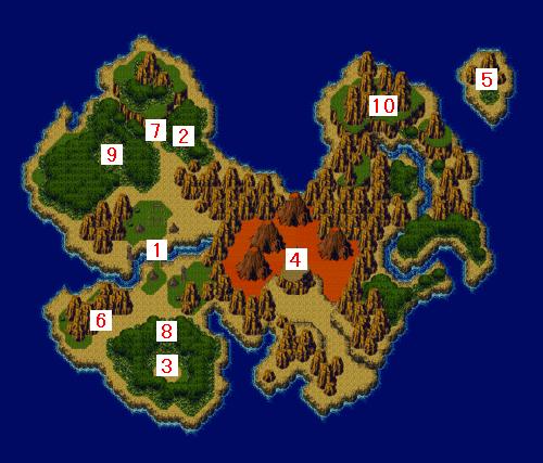 ワールドマップ・原始