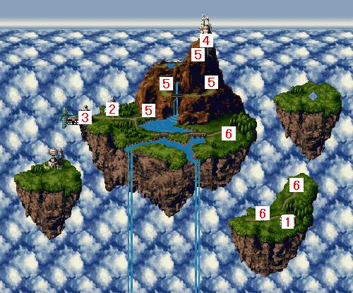 ワールドマップ・古代(天上)