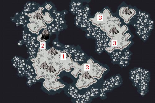ワールドマップ・古代(地上・崩壊前)