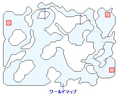 ヌゥの出現場所(狩りの森)