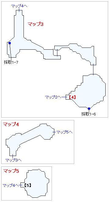 Switch版(2D)&3DS版(2D)ストーリー攻略マップ・神の岩(3)